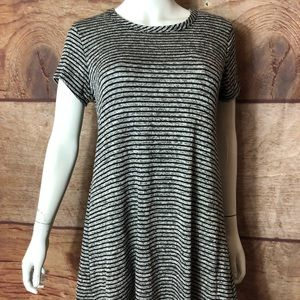 Olivia Rae Swing Top Women's Size Small Striped